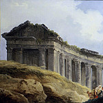 Hubert Robert – A Colonnade in Ruins, Metropolitan Museum: part 3