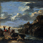 Salvator Rosa 1615–1673 Rome) – Bandits on a Rocky Coast, Metropolitan Museum: part 3