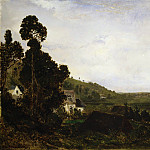 Metropolitan Museum: part 3 - Théodore Rousseau - An Old Chapel in a Valley