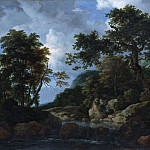 Jacob van Ruisdael – The Forest Stream, Metropolitan Museum: part 3