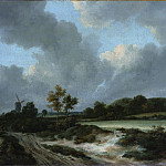 Metropolitan Museum: part 3 - Jacob van Ruisdael - Grainfields