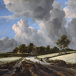 Jacob van Ruisdael – Wheat Fields, Metropolitan Museum: part 3