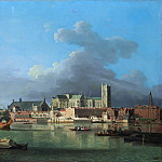 Metropolitan Museum: part 3 - Samuel Scott - The Building of Westminster Bridge