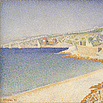 Metropolitan Museum: part 3 - Paul Signac - The Jetty at Cassis, Opus 198