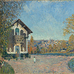 Alfred Sisley – View of Marly-le-Roi from Coeur-Volant, Metropolitan Museum: part 3