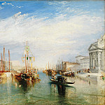 Joseph Mallord William Turner – Venice, from the Porch of Madonna della Salute, Metropolitan Museum: part 3
