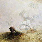 The Whale Ship, Joseph Mallord William Turner