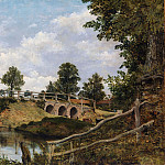 Frederick Waters Watts – An Old Bridge at Hendon, Middlesex, Metropolitan Museum: part 3
