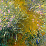 The Path through the Irises, Claude Oscar Monet