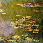 Claude Monet – Water Lilies, Metropolitan Museum: part 3