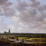 Jan van Goyen – A View of The Hague from the Northwest, Metropolitan Museum: part 3