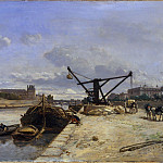 Metropolitan Museum: part 3 - Johan Barthold Jongkind - View from the Quai d'Orsay
