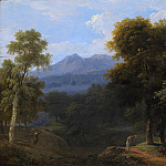 Classical Landscape with Figures, Jean Victor Bertin