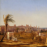 Jules Coignet – View of Beirut, Metropolitan Museum: part 3