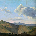 Metropolitan Museum: part 3 - Simon Denis - Mountainous Landscape at Vicovaro