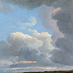 Metropolitan Museum: part 3 - Simon Denis - Cloud Study (Early Evening)