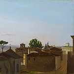 Metropolitan Museum: part 3 - Simon Denis - View on the Quirinal Hill, Rome