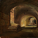 Metropolitan Museum: part 3 - François Diday - Interior Passage in the Colosseum