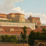 Metropolitan Museum: part 3 - Alexandre-Hyacinthe Dunouy - The Palazzo Reale and the Harbor, Naples