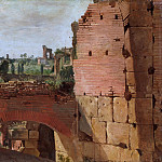 German Painter, early 19th century – View from the Colosseum towards the Palatine, Metropolitan Museum: part 3