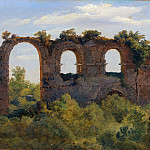 Metropolitan Museum: part 3 - André Giroux - A Section of the Claudian Aqueduct, Rome
