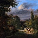 French Painter, 19th century – Landscape with a Shepherd, Metropolitan Museum: part 3