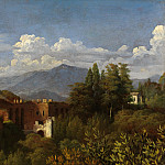 François-Édouard Picot – View of the Gate of Belisarius, Seen from the Villa Medici, Metropolitan Museum: part 3