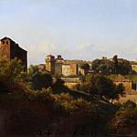 Metropolitan Museum: part 3 - Charles Rémond - View of the Colosseum and the Arch of Constantine from the Palatine