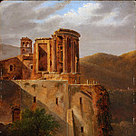 Metropolitan Museum: part 3 - French Painter - The Temple of Vesta, Tivoli