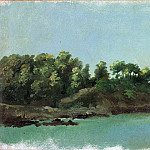 Metropolitan Museum: part 3 - Pierre-Henri de Valenciennes - The Banks of the Rance, Brittany