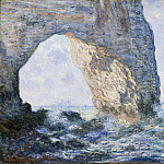 Metropolitan Museum: part 3 - Claude Monet - The Manneporte (Étretat)