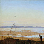 Metropolitan Museum: part 3 - Johan Thomas Lundbye - An Evening beside Lake Arresø