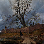 Metropolitan Museum: part 3 - Julius von Leypold - Wanderer in the Storm
