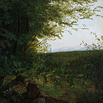 Metropolitan Museum: part 3 - August Heinrich - At the Edge of the Forest