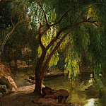 View in the Tiergarten, Berlin, Carl Blechen