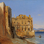 Metropolitan Museum: part 3 - Jules Coignet - The Palace of Donn'Anna, Naples