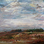 Hampstead Heath with Bathers, John Constable