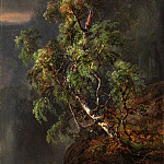 Metropolitan Museum: part 3 - Johan Christian Dahl - Birch Tree in a Storm