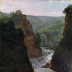 Metropolitan Museum: part 3 - Simon Denis - Aniene River at Tivoli