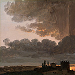 Metropolitan Museum: part 3 - Simon Denis - Sunset, Rome