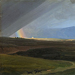 Simon Denis – Landscape near Rome during a Storm, Metropolitan Museum: part 3