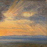 Thomas Fearnley – Sunset, Sorrento, Metropolitan Museum: part 3