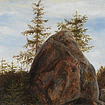 Metropolitan Museum: part 3 - Thomas Fearnley - Monolith and Trees