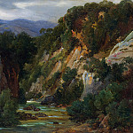 Metropolitan Museum: part 3 - André Giroux - The Aniene River at Subiaco