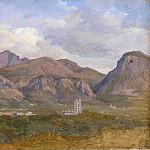 Metropolitan Museum: part 3 - August Lucas - View of Monte Sant'Angelo from the Villa Auriemma near Sorrento