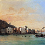 Charles Rémond – View of Ischia from the Sea, Metropolitan Museum: part 3