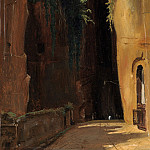 Metropolitan Museum: part 3 - Gustaf Söderberg - The Grotto of Posilipo, Naples