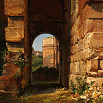 Lancelot-Théodore Turpin de Crissé – The Arch of Constantine Seen from the Colosseum, Metropolitan Museum: part 3