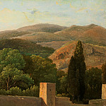 Metropolitan Museum: part 3 - Pierre-Henri de Valenciennes or Circle - City Wall at the Foot of a Mountain