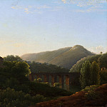 Metropolitan Museum: part 3 - Joseph Bidauld - The Bridge at La Cava, Kingdom of Naples